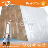 Piel de la puerta del papel de la melamina de la cereza/piel moldeada de la puerta