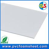 Folha branca da espuma do PVC