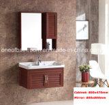 Шкафы ванной комнаты цвета темного Brown алюминиевые материальные (8200)