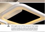 8 Ringe frei bestanden aus eindeutiger Acrylstrahlungs-Decken-Lampe