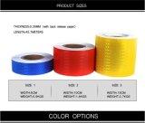 PVC 화살 안전 사려깊은 경고 테이프, 백색 또는 파랑