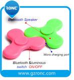Hete friemelt de Verkopende LEIDENE van de Spreker Bluetooth Lichte Vinger van de Hand Spinner