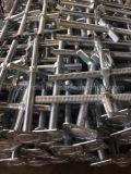 Безопасное гальванизированное основание Jack винта лесов регулируемое для строительного оборудования
