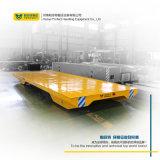 Geschäfts-Spur-materielle Laufkatze-schwere Eingabe-Schienen-Karre Gleichstrom-36V