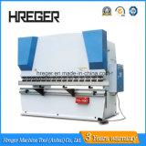 Máquina de dobra hidráulica da placa da liga Wc67y-200X8000