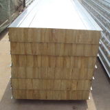 PPGI Colorgold Felsen-Wolle-Zwischenlage-Panel mit Qualität