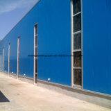Taller ligero de la estructura de acero del diseño de la construcción del metal con Niza aspecto