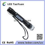 Tocha UV 3W do diodo emissor de luz da lanterna elétrica 365nm
