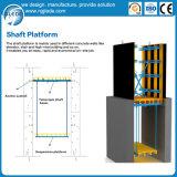 解決デザインのエレベーター・シャフトの型枠