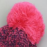 Изготовленный на заказ шлемы зимы с POM Poms, Beanie связали шлем, таможню связанный шлем Beanie POM