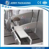 A alta qualidade promoveu a caixa farmacêutica que empacota & que prende com correias a máquina