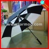 Venda quente feita sob encomenda que anuncia o guarda-chuva do golfe
