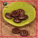 4holes Brown Farben-Klage-Tasten-Hemd-Kleid-Zubehör