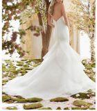 2018年のAラインのレースのビーズの花嫁のウェディングドレスCtd6837