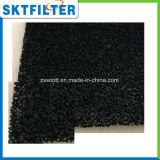 Черная губка пены активированного угля