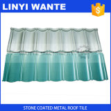 Colorer les tuiles de toit enduites par puce en pierre en métal