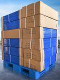 plateau en plastique de palette de 1200*1200*150mm de la charge statique 6t de réseau de côté lourd en plastique de double pour la mémoire d'entrepôt (ZG-1212)