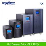 UPS em linha puro de alta freqüência em linha da onda de seno 1-10kVA da proteção do tipo e da sobrecarga