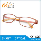 Monocolo di titanio Eyewear (9601-EW) del blocco per grafici di vetro ottici del Pieno-Blocco per grafici di stile di modo