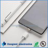 Câble usb magnétique micro de chargeur de synchro de PVC de Pin de la vitesse 8 pour Samsung