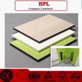 Laminado del compacto de HPL