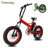 Vélo électrique d'OEM 2016 d'Aimos gros 20 pouces de 48V 500W de gros vélo électrique de pneu