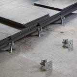 De concrete Opgevulde Staal Opgeheven Bevloering van de Toegang