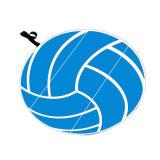 كرة الطائرة [ست كشيون] ملعب مدرّج وسادة وسادة ترويجيّ لأنّ [سبورت فنت]