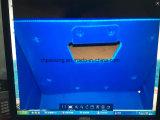 Коробка оборачиваемости упаковки PP Corflute Correx Coroplast