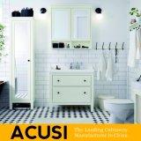 Neue erstklassige heiße verkaufende einfache Art-festes Holz-Badezimmer-Eitelkeits-Badezimmer-Schrank-Badezimmer-Möbel (ACS1-W42)