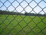 Frontière de sécurité flexible de maillon de chaîne de région de sport de fil