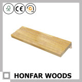 Moulage en bois d'enveloppe de montant de porte de porte de placage de qualité