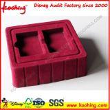 Rosafarbener Samt/Scharen des Blasen-verpackentellersegmentes