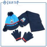Изготовленный на заказ шлем шарфа Knit и комплект перчатки