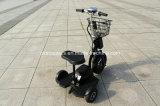 triciclo elétrico do frame de aço de 350W 500W, bicicleta elétrica da roda do adulto 3