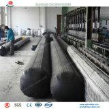 Aufblasbarer u. pneumatischer Gummiballon für die Herstellung des Abzugskanals