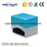 Prix à grande vitesse du galvanomètre Jd2203 de machine d'inscription de laser de fibre sans inscription de laser