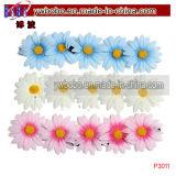 Punten van de Partij van het Haar van het Haar van Scruchies van de bloem de Elastische Bijkomende Wevende Beste (P3046)