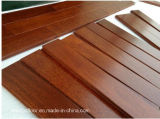 Suelo Herringbone preacabado de madera sólida de Merbau