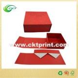Коробка подарка изготовленный на заказ картона печатание полного цвета твердого складывая (CKT- CB-660)