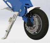 ملاك زرقاء يطوي [إ-] [سكوتر] درّاجة كهربائيّة
