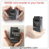 Minityp 0.4-2.2kw Frequenz-Geschwindigkeits-Laufwerk VSD mit Frequenz 50Hz/60Hz