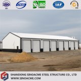 Edificio de marco de acero prefabricado para el almacén de Sinoacme