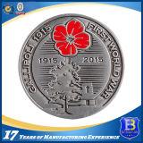 総合的なエナメルが付いている旧式な軍の記念品の硬貨