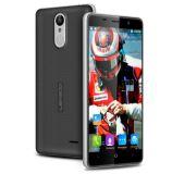 Leagoo initial M5 plus le gris de smartphone de l'empreinte digitale 4G Lte de ROM 13MP du RAM 16GB du téléphone mobile 2GB de faisceau de quarte du téléphone cellulaire Mt6737 de l'androïde 6.0