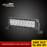 "10.5 "" barre chiare fuori strada 12V dell'automobile 54W LED del camion per la jeep"