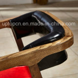 二重カラー赤くおよび黒いの木のレストランの家具の椅子(SP-EC480)