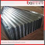 Azulejos de /Roofing de la hoja del material para techos de Gl del Al del 55% de China