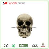 Статуя головки черепа Polystone для промотирования и украшения Halloween