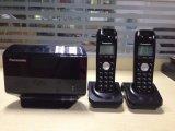 يفتح [هووي] [كإكس] [تو] 502 [غسم] [كردلسّ] [سم] بطاقة هاتف مع 2 سمّاعة يد